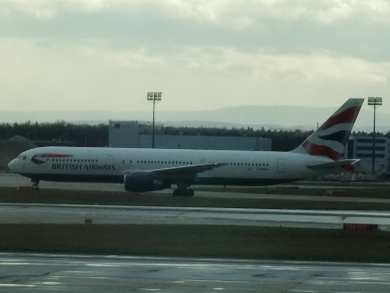 British Airways Boeing 767 Frankfurt